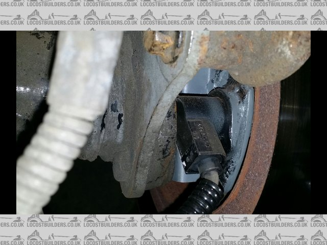 Hall sensor english axle