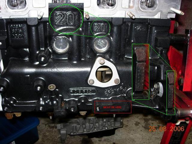 Zetec Engine Number Format