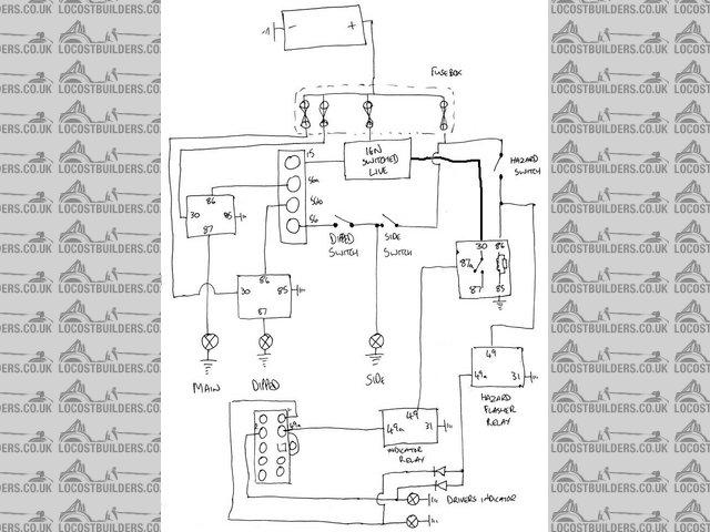 hazard light circuit? ZX12 240 Kit  Triumph Wiring Diagram 03 Kawasaki ZX12 2000 Kawasaki ZX12