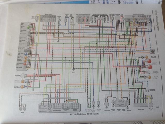 Kawasaki Zzr 1100 Wiring Diagram - Wiring Diagram Site on