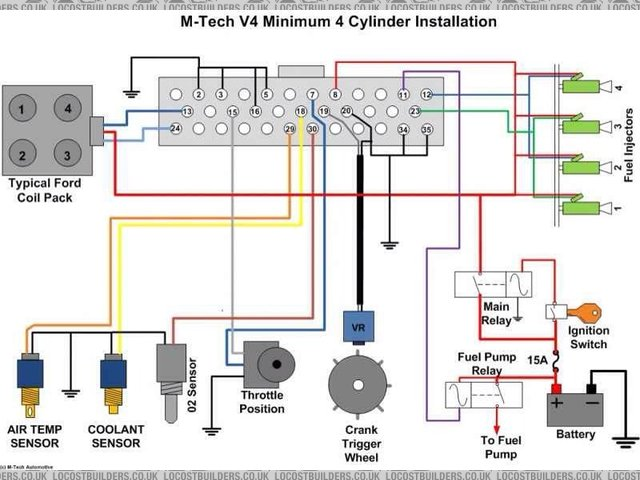 M-tech wiring diagram