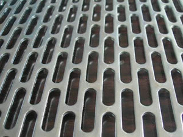stainless perforated