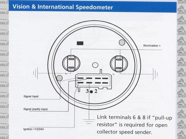 Vdo Sel Tachometer Wiring
