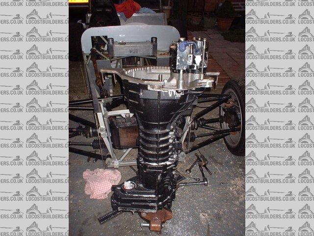 V6 engine transmission adapter plates